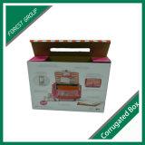 Rosafarbenes Farben-Drucken-Gepäck-verpackenkasten