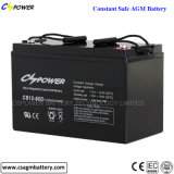 Bateria acidificada ao chumbo 12V80ah para o UPS, CS12-80 de VRLA