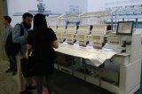 2つのヘッド平たい箱、帽子、衣服の刺繍(WY-902C)のための産業刺繍機械