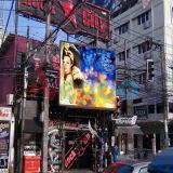 Im Freien bunter bekanntmachender Bildschirm LED-P8