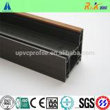 PVC профилирует оба профиль тела цвета стороны прокатанный