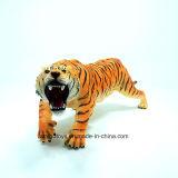 Le tigre animal en plastique d'usine de la Chine joue doucement bon marché