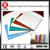 Белое слоистый пластик, изготовляемый прессованием под высоком давлением HPL декоративное
