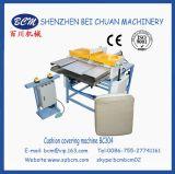 Macchina calda della copertura di Cushiong di vendita per i prodotti della gomma piuma di compressione