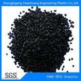 Gránulos de la fibra de vidrio el 25% de la poliamida PA66 para los plásticos de la ingeniería