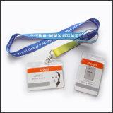 Retractable дешевый талреп держателя вьюрка значка карточки Name/ID изготовленный на заказ с держателем удостоверения личности (NLC019)