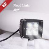 guide optique de lampe de 20W DEL de travail automatique du CREE DEL pour la moto de camion