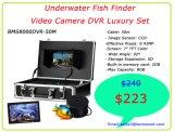 """7匹の"""" TFT DVR機能の水中HDの魚のカメラの魚のファインダー"""