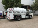 工場ASME標準シリンダー詰物のためのBobtail LPGディスペンサーのトラックLPGシリンダートラック5500リットルの5cbm LPG