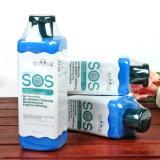 Shampooing d'espace libre de cheveu de crabot de toilettage de SOS pour le shampooing d'animal familier