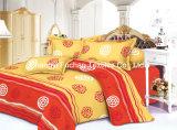 高品質の多/Cottonの明白な寝具セット