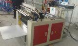 Flache Plastiktasche, die Maschine herstellt