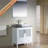 Governo bianco del bagno di vanità della stanza da bagno di legno solido di Fed-1181 Matt
