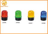 Con pilas de tráfico LED de luz intermitente de advertencia