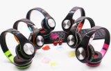 Receptor de cabeza de Bluetooth del deporte con el auricular, el jugador MP3 y la radio sin hilos/atados con alambre de FM
