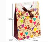 Qualitäts-bereiten Nizza Entwurfs-Papier-Einkaufstasche auf,/Klimaeinkaufen-Papierbeutel, Rohstoff-Geschenk-Braunes Packpapier