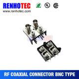 Drei in zwei Reihen BNC Verbinder zum RCA-Jack