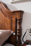 Neue Entwurfs-festes Holz-Möbel-amerikanisches Land-Art-Schlafzimmer-Set (AD813)