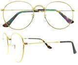 Los marcos redondos del marco de espectáculo venden al por mayor los vidrios ópticos de los marcos de la lente