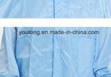 100%Polyester с одеждами ESD углерода противостатическими