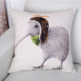 美しい綿の詰まらないでリネンデジタルによって印刷される投球枕カバー(35C0072)