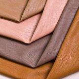 Couro da mobília do PVC do plutônio da alta qualidade 2016
