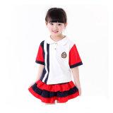 Disegno primario 100% dell'uniforme scolastico dei capretti del cotone degli uniformi scolastichi di estate