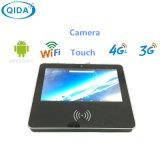 Video del PC dello schermo di tocco di 12 pollici con l'impronta digitale della macchina fotografica NFC per il banco