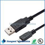 USB 2.0 Am заряжателя высокого качества передвижной к микро- кабелю USB