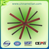 Cuña de ranura eléctrica del motor de la fibra de vidrio del epóxido del aislante