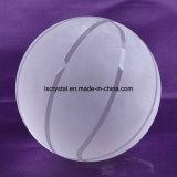 100mm Kristall - freier Glasbasketball für Andenken-Kugel