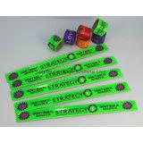 Bande faite sur commande de claque de silicones de bracelet de claque de silicones/bracelets en caoutchouc de claque