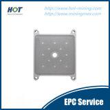 Automatische Raum-Filterpresse-Platte des Hochdruck-pp.