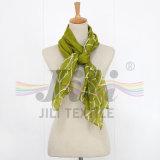 Sciarpa lunga viscosa di Hijab del reticolo del grano dei coralli simile alla sciarpa di seta