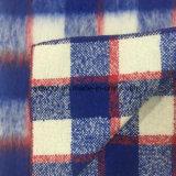 Длинняя ткань шерстей проверки шерстей для шинели