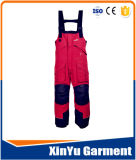 Calças do Bib do Workwear/total com bolsos