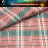 paño teñido de los hilados de polyester 363t, tela de imitación de la memoria, pongis Yarn-Dyed