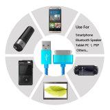 Микро- данные по Sync USB голодают кабель заряжателя на iPhone 4