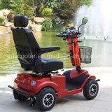 Vespa ajustada sierpe hidráulica de cuatro ruedas de la movilidad de la vespa de motor 950W