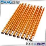 Aluminium-/Aluminiumgefäß-Rohr-Strangpresßling-Profil-Zelt Pole