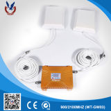 Dual Band 900 / 2100MHz Signal Repeater 2g 3G Mobile Signal Booster