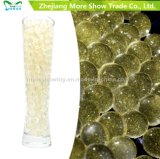 Golden Color Glitter Crystal Soil Water Gel Beads Wedding Decoration