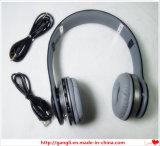 Наушники Bluetooth светлого HD-Микрофона СИД беспроволочные стерео, для компьютера мобильного телефона