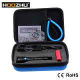 Mini LED linterna de Hoozhu U10 80 contadores de la mini linterna del salto del equipo de submarinismo de linterna recargable que se zambulle