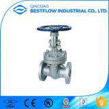 Valvola a saracinesca flangiata dell'acciaio inossidabile per il gas di olio e l'acqua Pn16 Dn100
