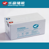 bateria 12V250ah recarregável acidificada ao chumbo para o UPS