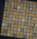 Sinocheer Qualitäts-schöne Wand und Fußboden passen Shell-Mosaik, Kristallglas-Mosaik-Fliese an