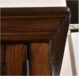 Scaffale di legno di stile del teck solido europeo della mobilia (GSP18-001)