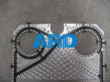 Gaxeta NBR EPDM HNBR Viton do cambista de calor da placa da gaxeta de Laval Ax30 do alfa da alta qualidade