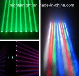 Bestes verkaufen8pcs 10W RGBW vier in einem CREE LED beweglichen Hauptdisco-Licht des Träger-Licht-LED